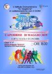 LOCANDINA FESTA DELLA SPORT 2019