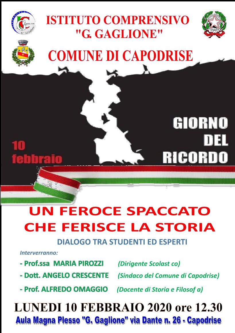 IC GAGLIONE - COMUNE DI CAPODRISE
